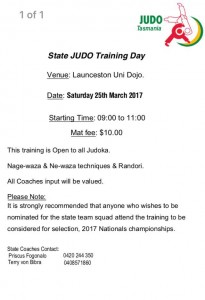 State training 25th march